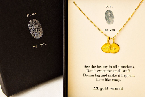 N348V Dream Big Gold - b.u. jewelry
