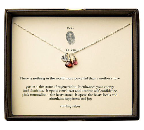 SCE009MOM There Is Nothing in the World More Powerful - b.u. jewelry