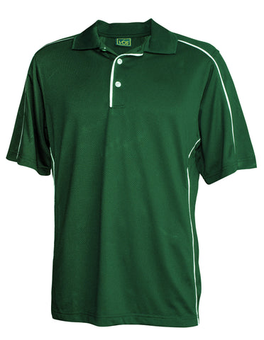 #128 Polyester Polo Shirt with Piping