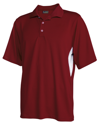 #129 Mens Polyester Polo Shirt