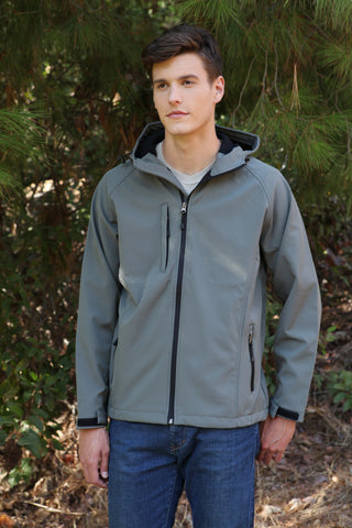 #9700 Soft Shell Jacket With Hood