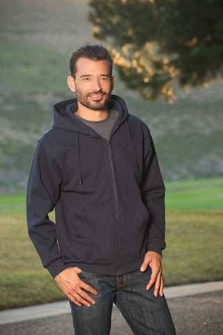 #9900 Heavy Weight Full Zipper Hooded Sweatshirt