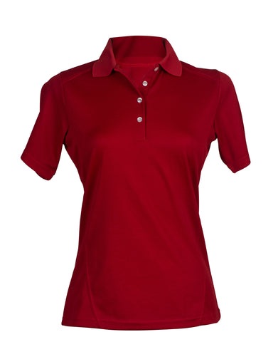 #127 Ladies Polyester Polo Shirt
