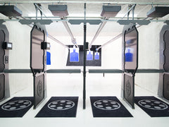 arena gun club shooting bays