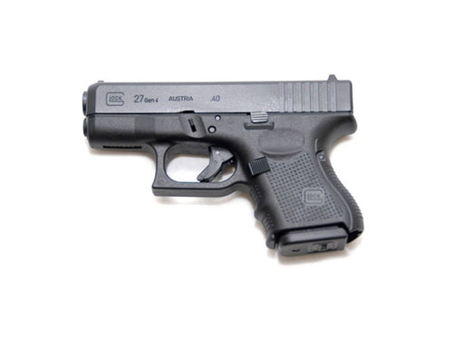 Rent a Glock 27 Gen3 40 s&w pistol today!