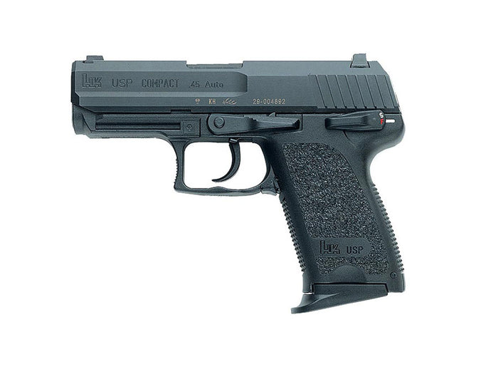Rent a HK USP Compact 45ACP pistol today!