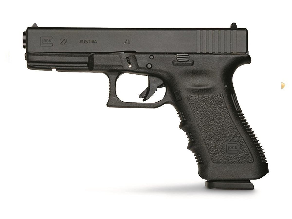 Rent a Glock 22 40 s&w pistol today!