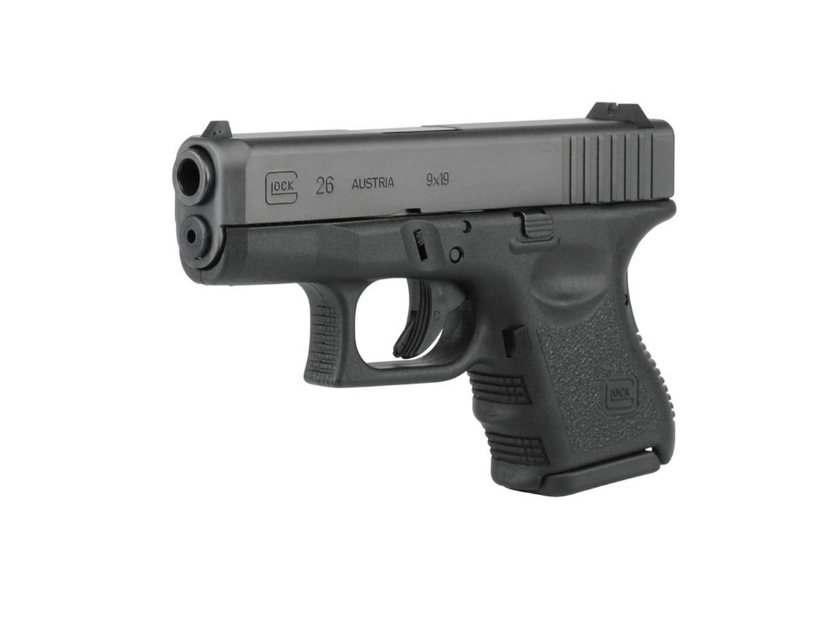 Rent a Glock 26 Gen3 9mm pistol today!