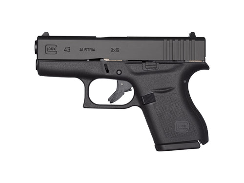 Rent a Glock 43 9mm pistol today!