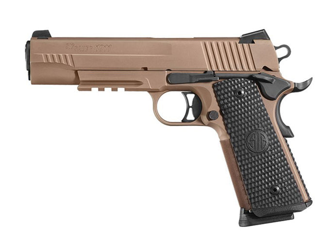 Rent a SIG Emperor Scorpion 1911 in 45acp