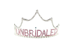 """Unbridaled"" Divorce Party Tiara"