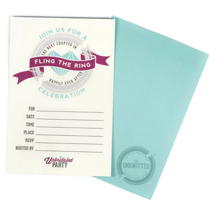 Divorce party invitations