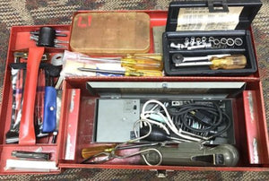 AIR FORCE TOOL KIT, ELECTRONICS AVIONICS COMPLETE - GRADE B