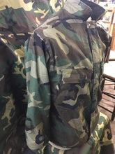 USGI ARMY MILITARY CHEMICAL PROTECTION SUIT XX-SMALL WOODLAND CAMO