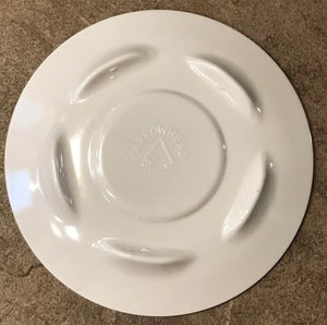 "USAF AIR FORCE ACADEMY COLLECTIBLE 6"" MELAMINE SAUCER - GRADE B"