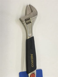 "NEIKO 10"" ADJUSTABLE WRENCH SOFT GRIP BRAND NEW MILITARY SURPLUS"