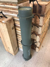 ARMY M1 ABRAMS TANK AMMUNITION TUBE MILITARY AMMO CAN 120MM SABOT