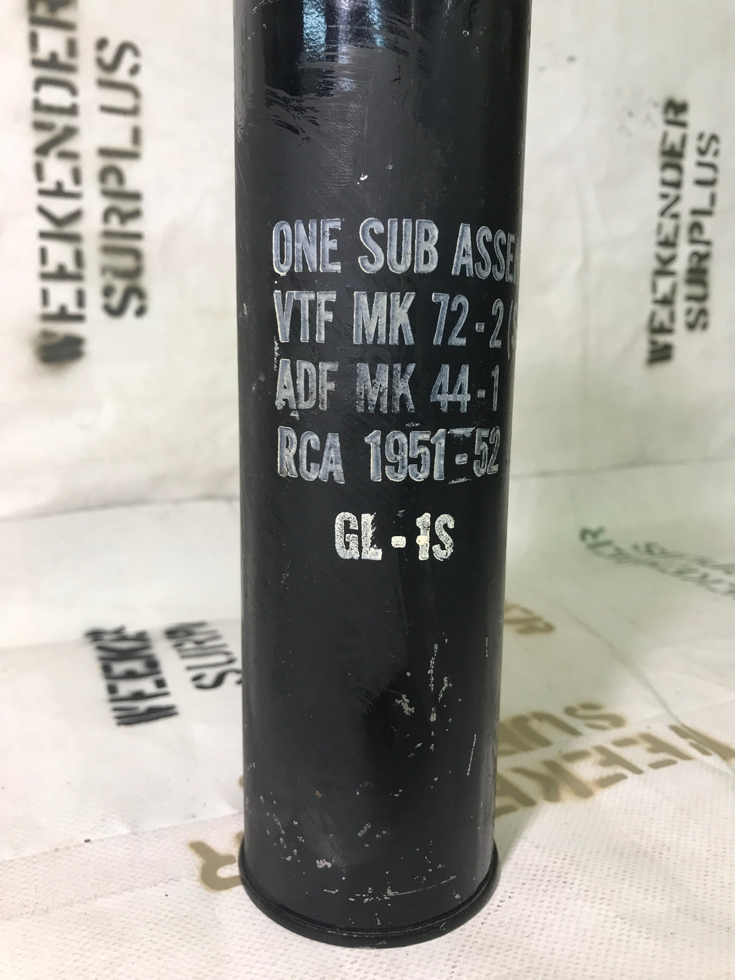 CONTAINER, FUZE SUB ASSEMBLY FSN DATES 1950'S - GRADE B