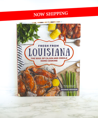 Fresh From Louisiana Cookbook - Autographed -  15% off Retail