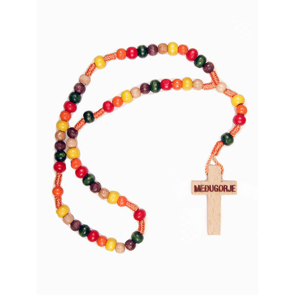 Children's / Missionary Colored Bead Rosary