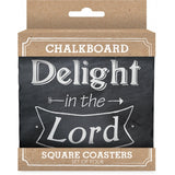 Chalkboard Coaster Set
