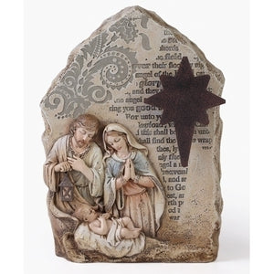 Nativity Figure with Star