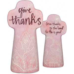 Give Thanks Sentiment Cross