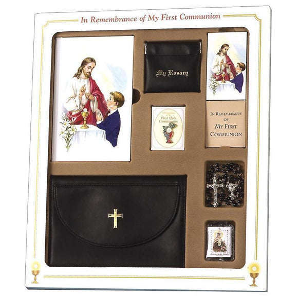 First Communion Premier Gift Set for Boys