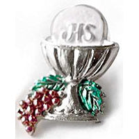 Silver First Communion Pin