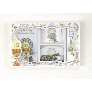 First Communion Boy's 5-Piece Gift Set
