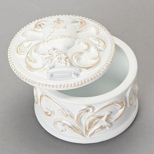 Antiqued Chalice Keepsake Box