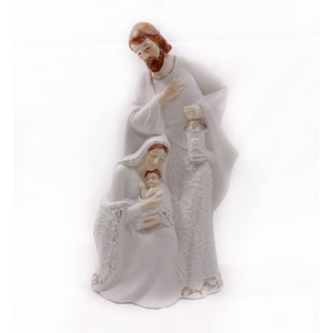 Porcelain Holy Family Lighted Figure