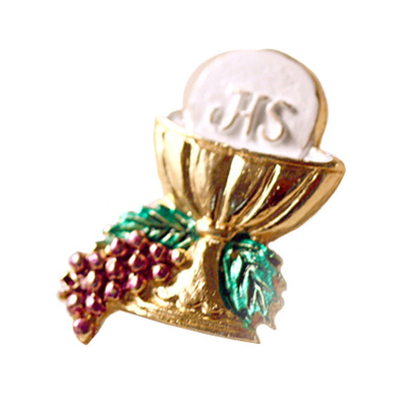 Gold First Communion Pin