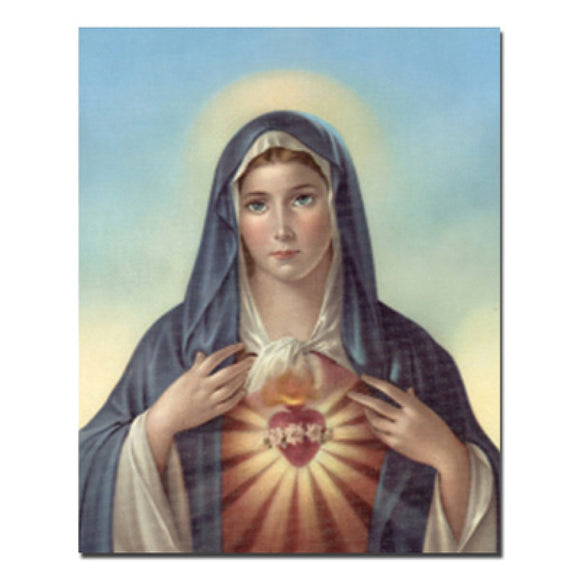Immaculate Heart of Mary 8x10 Carded Print