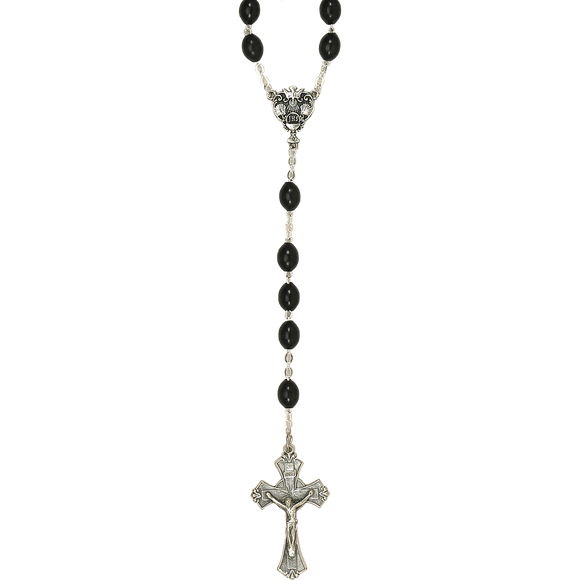 Black Wood RCIA Rosary