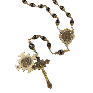 St. Benedict Vintage Rosary