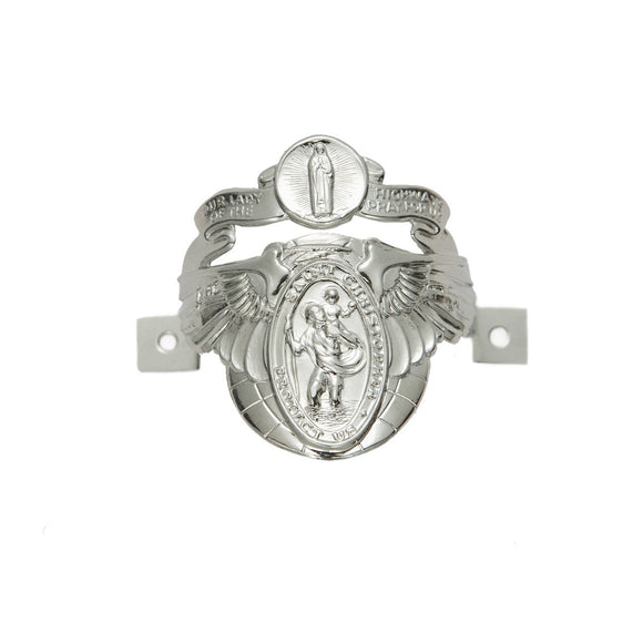 St. Christopher Biker Clip