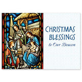 Christmas Blessings to our Deacon