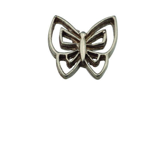 Butterfly Pewter Lapel Pin