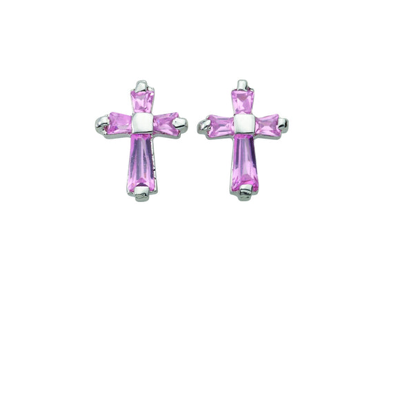 October Birthstone Post Earrings