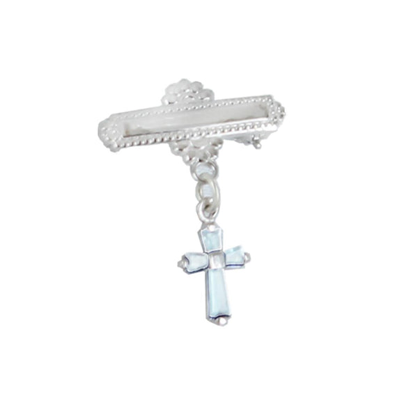 March Baby Cross Bar Pin