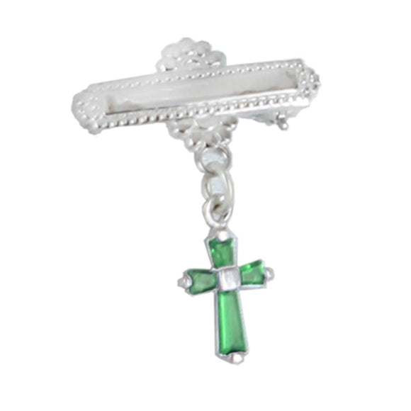 May Baby Cross Bar Pin