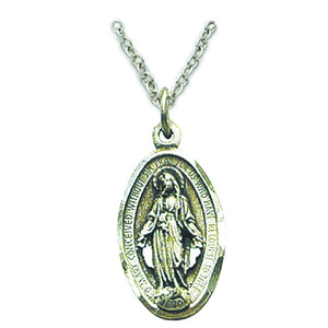 Small Sterling Silver Miraculous Medal
