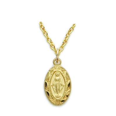 Gold Filled Miraculous Medal