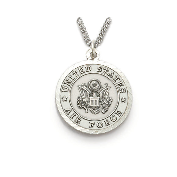 St. Michael Nickel Silver Airforce Medal