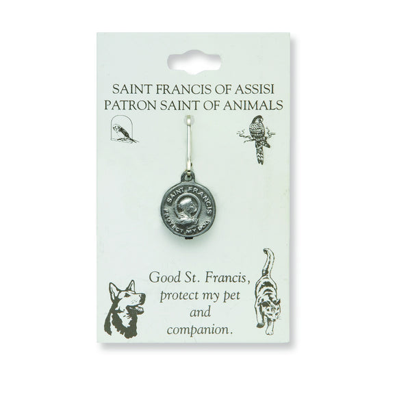 Small St. Francis Dog Medal