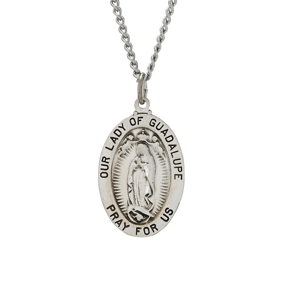 Our Lady of Guadalupe Oval Medal