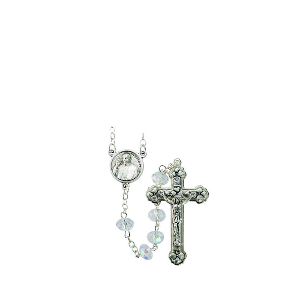 Crystal Pope Francis Rosary
