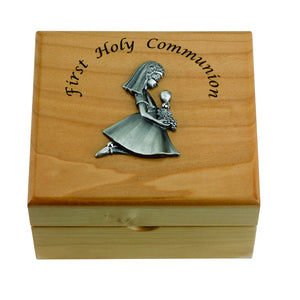 Girl First Communion Keepsake Box