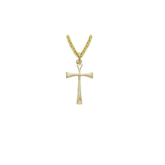 14K Gold Filled Maltese Cross